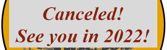 IIR2020  afgelast / canceled
